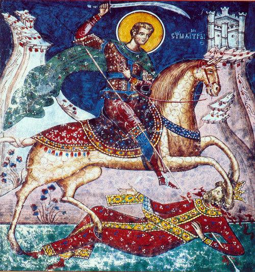 Cultul Sfantului Mucenic Dimitrie in randul popoarelor slave