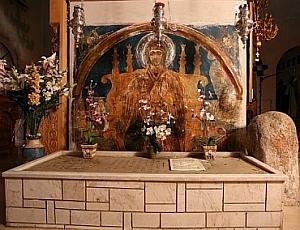 Mormantul Sfintei Paraschevi - Pounta