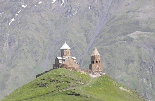 Manastirea Sfanta Treime - Georgia