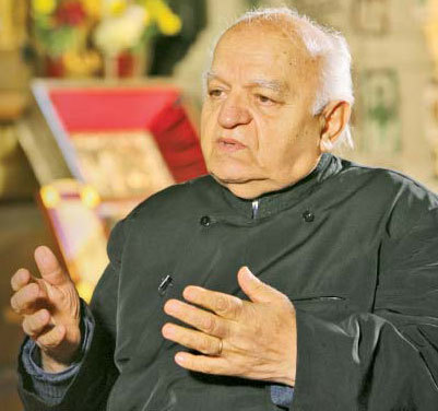 Parintele Profesor Nicolae Bordasiu