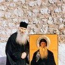 Cuviosul Iacov Tsalikis langa icoana Sfantului David