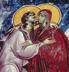 Sarutarea pacii, intre sarutul lui Iuda si sincera fratietate