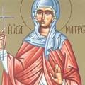 Sfanta Mucenita Matroana din Tesalonic