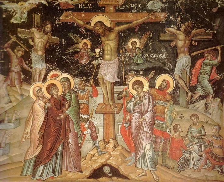 Crucea lui Hristos, balanta talharilor