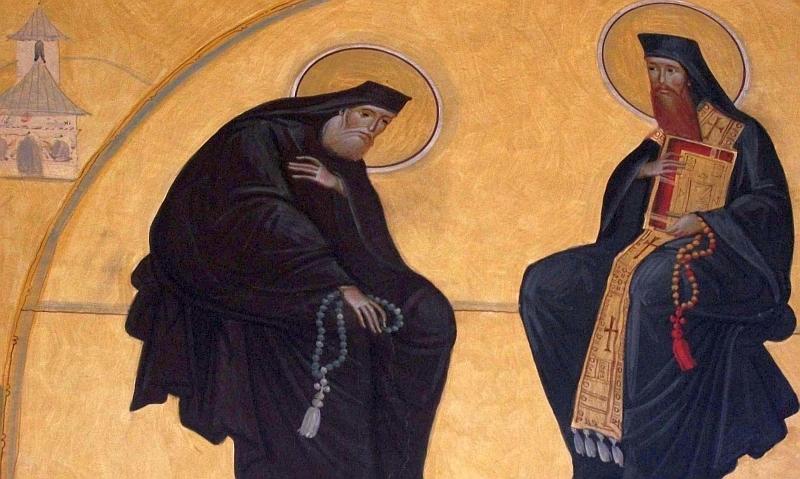 Sfinti care au sfintit Manastirea Cernica