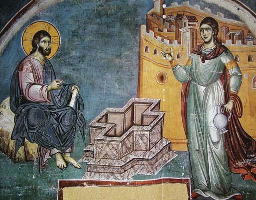 Samarineanca - propovaduitoare a Evangheliei Mantuitorului