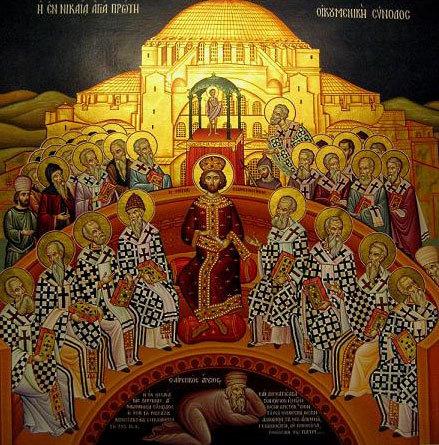 Duminica Sfintilor Parinti de la Sinodul I Ecumenic