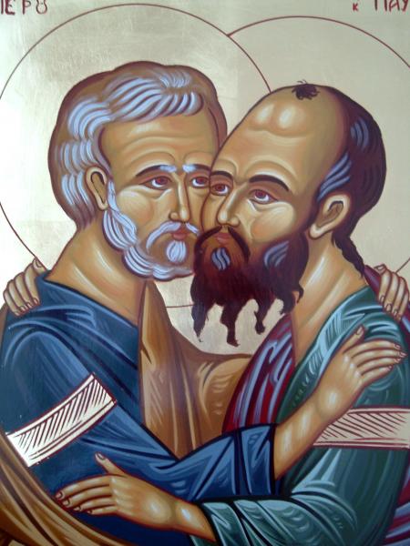 Cantare de lauda la Sfintii Apostoli Petru si Pavel