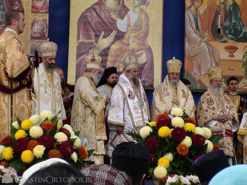 Sfanta Liturghie pe Colina Bucuriei