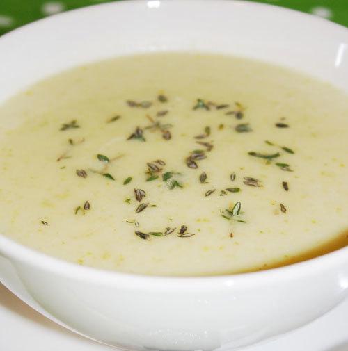 Supa de usturoi