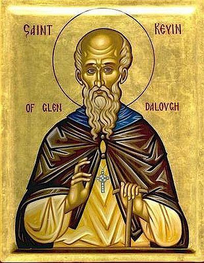 Sfantul Kevin din Glendalough