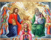 Incoronarea Maicii Domnului, o icoana ortodoxa?