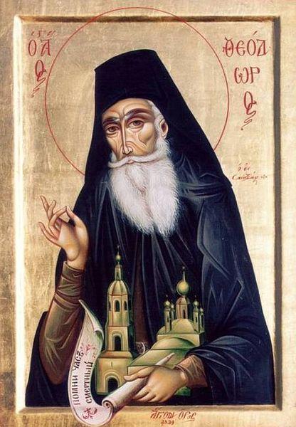 Sfantul Teodor din Sanaxar