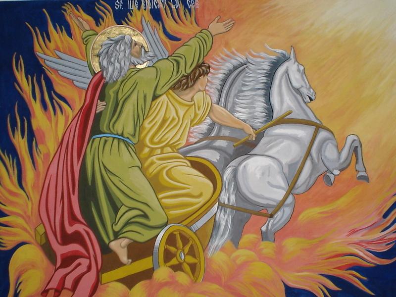 Prorocul Ilie - sfantul aviatorilor