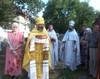 """Praznuirea hramului Bisericii """"Nasterea Sfantului Ioan Botezatorul"""" la Causeni, Republica Moldova"""