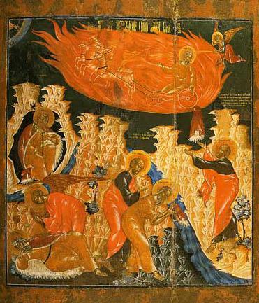 Revolta Sfantului Prooroc Ilie Tesviteanul