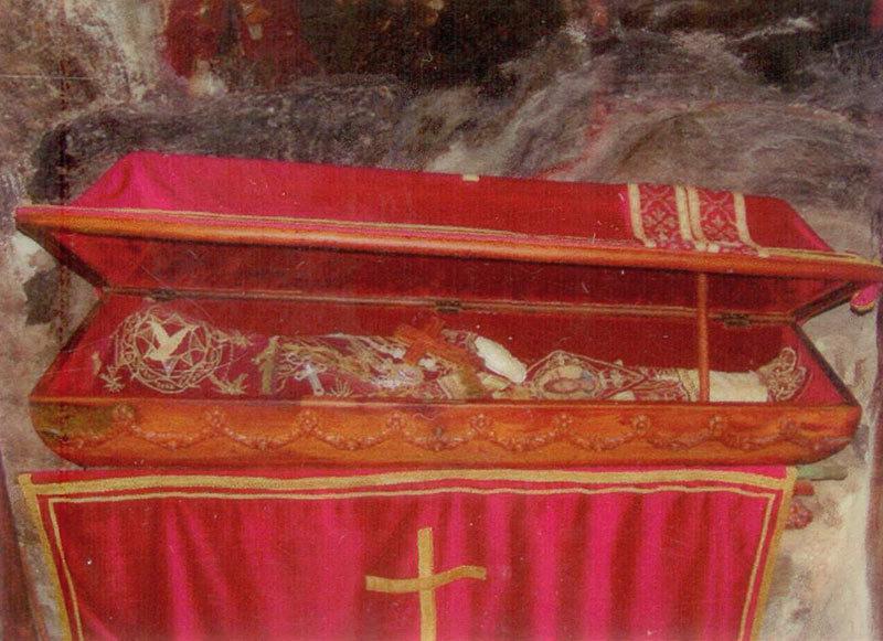 Moastele Sfantului Vasile al Ostrogului