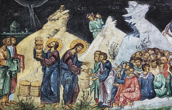 Minunea inmultirii painilor