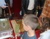 Copii la moastele Sfantului Dimitrie Basarabov