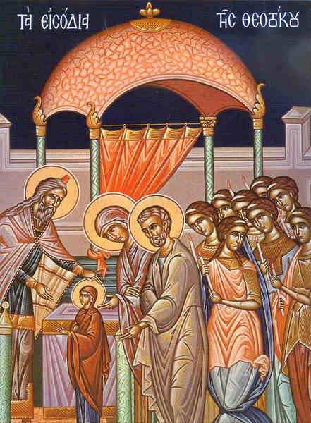 Intrarea in Biserica a Maicii Domnului - Sfantul Grigorie Palama