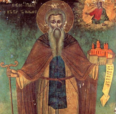 Sfantul Grigorie, ctitorul Manastirii Grigoriu