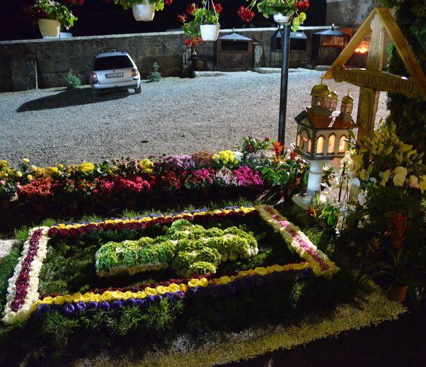 Mormantul Parintelui Iustin Parvu