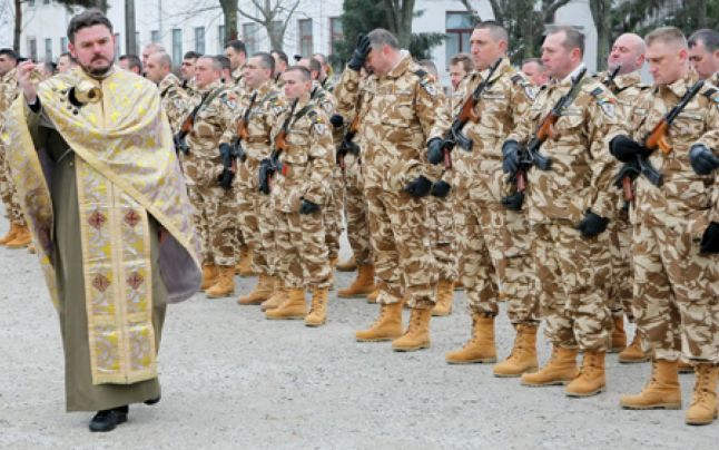 De ce Biserica binecuvanteaza kalasnikov-ul?
