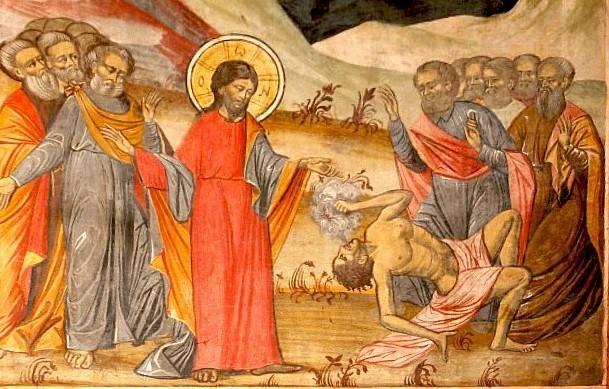 Vindecarea fiului demonizat