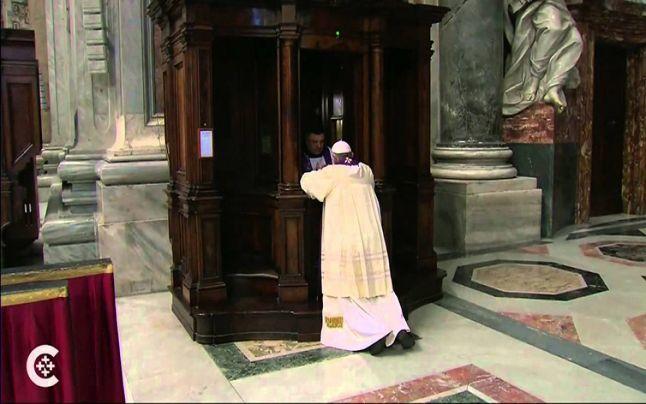 Spovedania Papei Francisc ataca infailibilitatea papala
