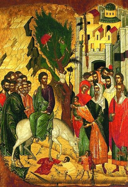 Predica la Intrarea Domnului in Ierusalim