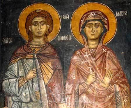 Timotei si Mavra, poveste de iubire