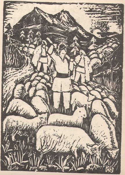 Intre comisarul Miclovan si ciobanul din Miorita