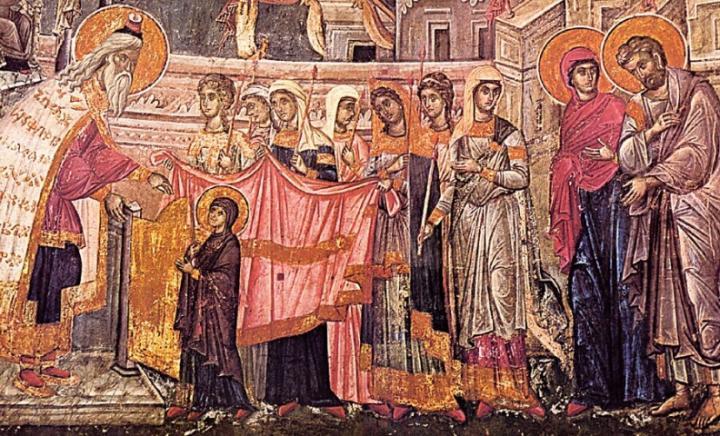 Predica la Intrarea in Biserica a Maicii Domnului