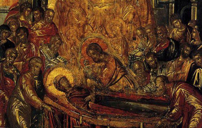 Sinaxar Adormirea Maicii Domnului