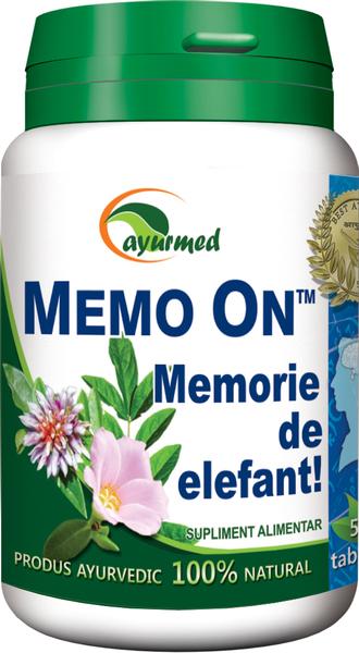 MEMO ON - mentinerea memoriei cu Ayurveda