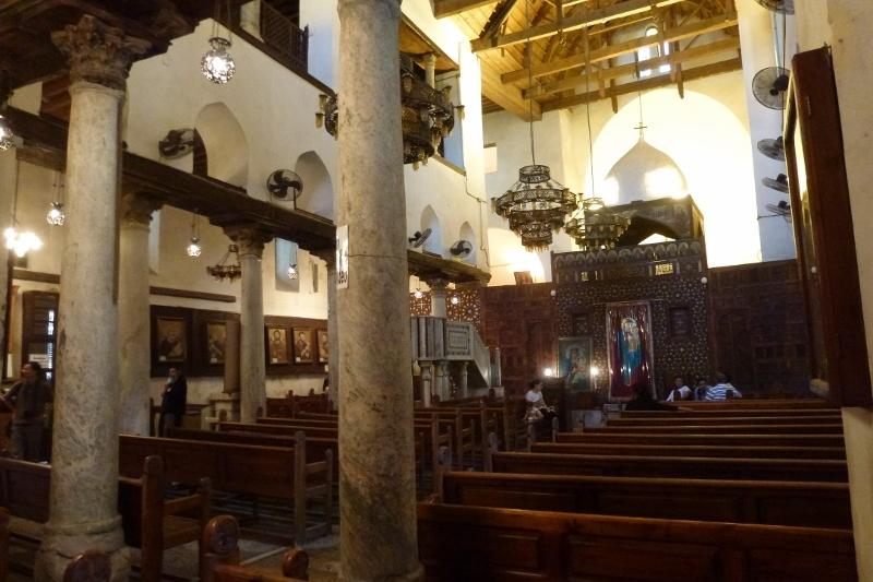 Cairo crestin: Biserica Sfantul Serghie