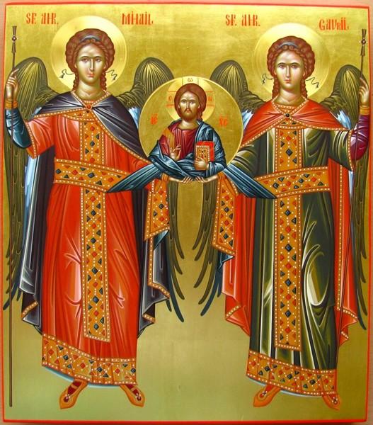 Canon de rugaciune la sarbatoarea Sfintilor Mihail si Gavriil