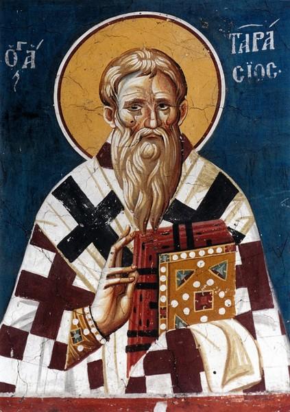Sfantul Ierarh Tarasie