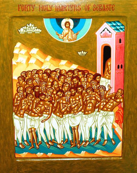Traditia Sfintilor 40 de Mucenici