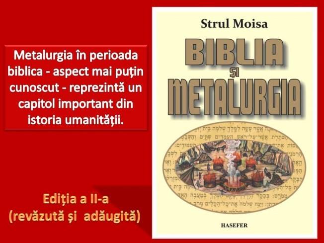 Biblia si metalurgia