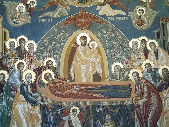 Adormirea Maicii Domnului - sarbatoare a bucuriei