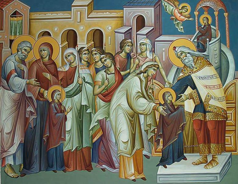 Praznicul Intrarii in Biserica a Maicii Domnului