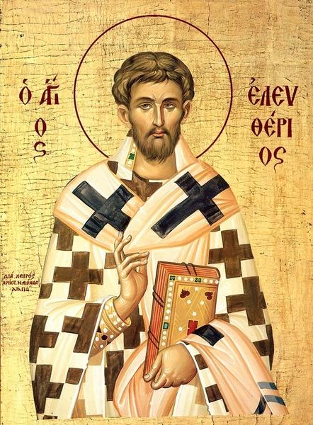Sfantul Elefterie, episcopul roman care a imblanzit leii