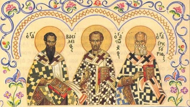 Sfintii Trei Ierarhi: