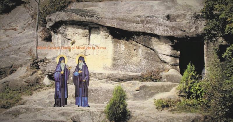 Sfintii Cuviosi Daniil si Misail de la Manastirea Turnu