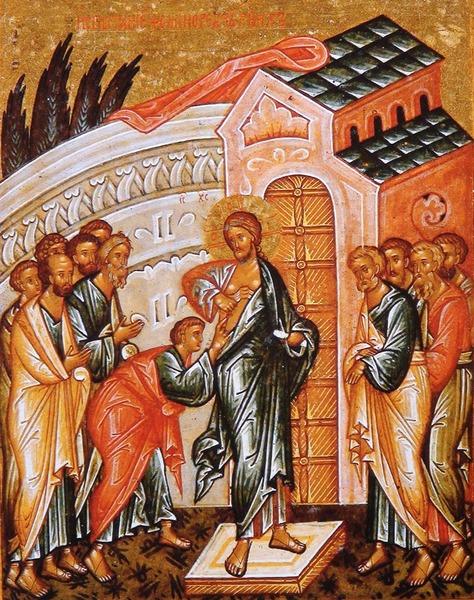 Descoperirea de sine a lui Toma si descoperirea de Sine a lui Hristos