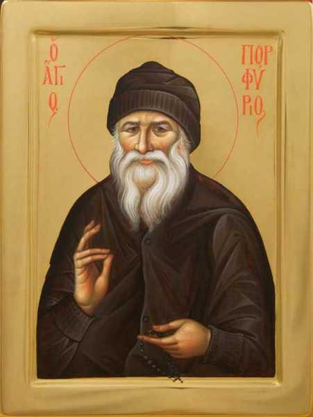 Relatari ale Sfantului Porfirie despre viata sa