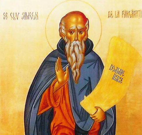 Sfantul Cuvios Simeon de la Pangarati
