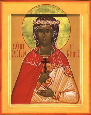 Sfanta Mucenita Cecilia