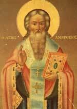 Sfanta Mucenita Filofteia de la Curtea de Arges; Sfantul Ambrozie de Milan, Episcopul Mediolanului